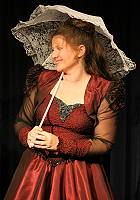 Engela as Maggie in The Red Princess Goes West